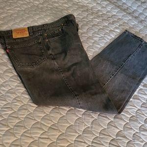 LEVIS 550 - black jeans.